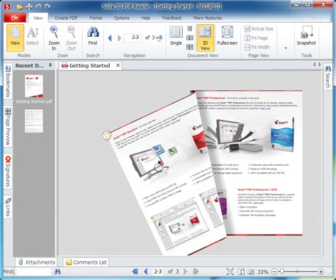 free reader soda 3d pdf reader v8 0 free software reviews