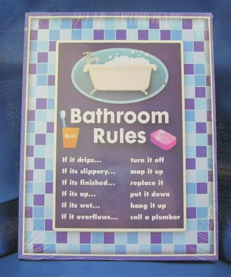 employee bathroom laws humorous bathroom rules signs google search creative