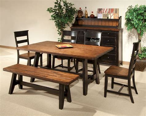 intercon dining room set winchester in wn ta 4270 bhn set