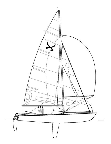 dessin bateau laser buccaneer dinghy wikipedia