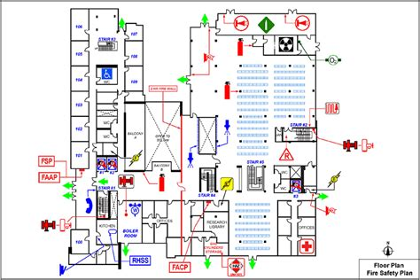fire extinguisher symbol on floor plan fire safety plan symbols