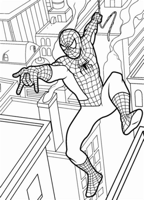 dibujos para colorear de spider man gratis spiderman2 dibujo de spiderman para imprimir