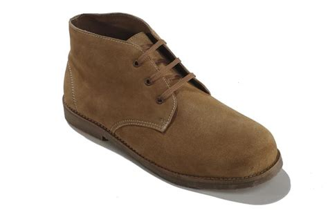 4e mens boots mens new wide 4e fitting desert boots brown