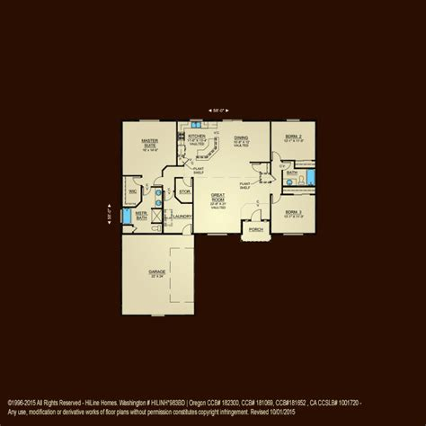 awesome hiline home plans 8 hi line homes floor plans