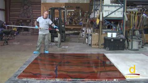 Make Floor by How To Install Designer Epoxy Flooring System Part 4