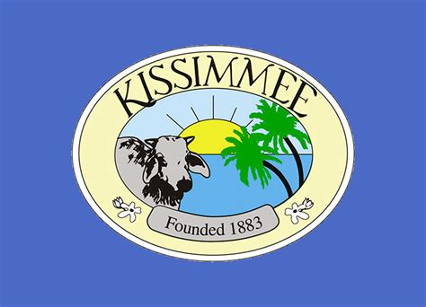 Fl Top New Flag flag of kissimmee fl vexillology
