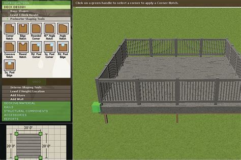 Free Deck Design Software   Professional Deck Builder