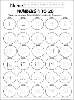 writing numbers worksheet 1 30 term paper writing service math sheets christmas ornament and ornaments on pinterest