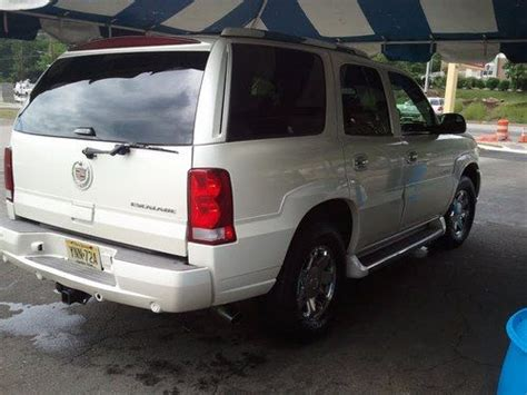 automotive air conditioning repair 2006 cadillac escalade regenerative braking sell used 2006 pearl white cadillac escalade base sport utility 4 door 6 0l in wayne new jersey