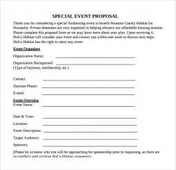 sample event proposal template 21 free documents in pdf