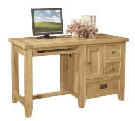 Desks Small Chiltern Oak Small Desk Oak Furniture Solutions