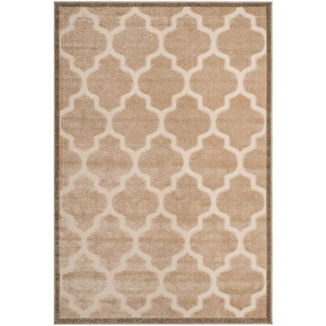 Cottage Area Rugs Safavieh Cottage Light Beige 4 Ft X 6 Ft Indoor Outdoor Area Rug Cot928l 4 The Home Depot