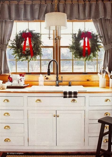 christmas decorating ideas for kitchen christmas kitchen decorating ideas best home decoration