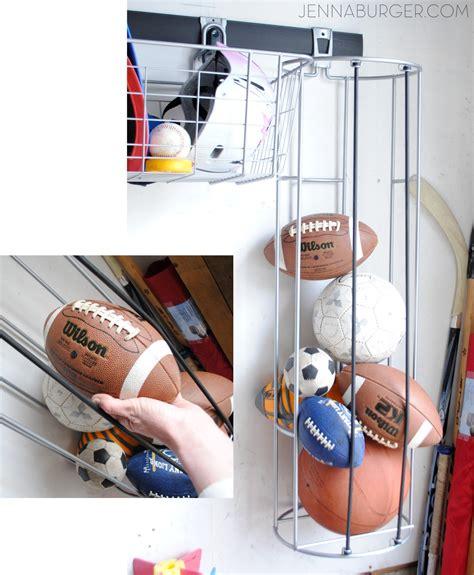 Garage Storage Ideas For Balls Getting Organized In The Garage Ideas For Organization