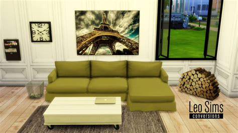 cc furniture sims 4 cc for sims 4 tea and coffee sofa the sims pinterest