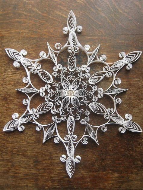 Handmade Paper Snowflakes - 814 best images about ornaments on