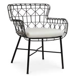 black outdoor chairs palecek black indoor outdoor arm chair