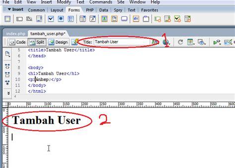 membuat link halaman dengan php membuat insert data mysql dengan php tanpa coding