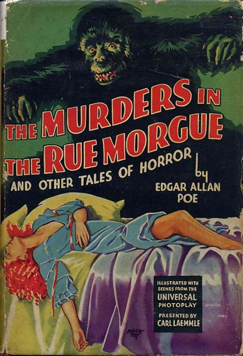 the murders in the the murders in the rue morgue and other tales of horror edgar allan poe later edition