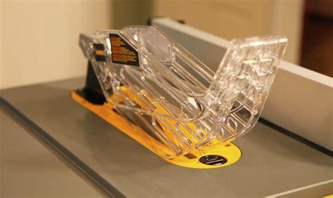 dewalt table saw guard dw744 plate smart guard system power tools