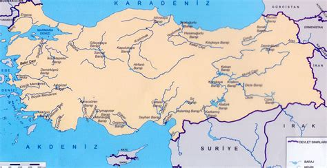 turkey rivers map