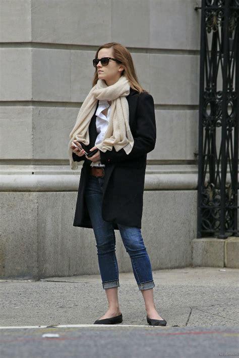 emma watson casual style emma watson casual jeans style 06 gotceleb