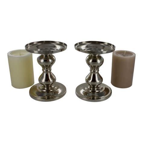 Metal Candle Holders Metal Candle Stand Holders Set Of 2 Design My