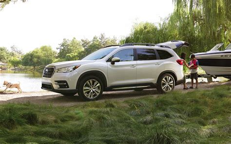 subaru images presenting the 2019 subaru ascent suv subaru
