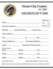 gym membership form template page 2 body building guide