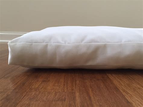 dog bed inserts items similar to dog bed pillow insert dog bed replacement mattress insert