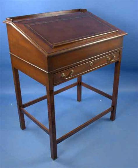 Lectern Desk by Antique Style Lectern Clerks Desk