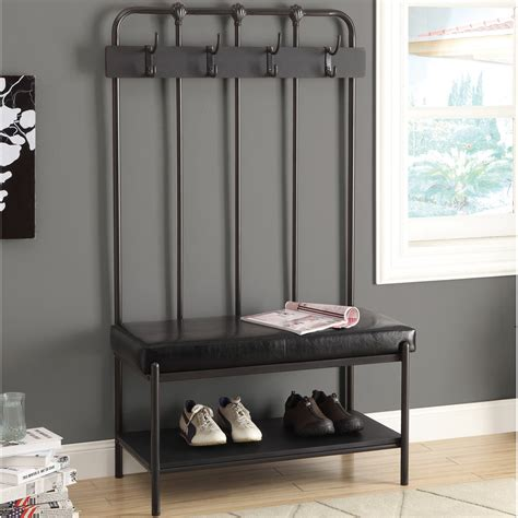 hallway storage bench with coat rack hallway bench with coat rack in storage benches