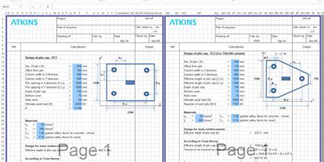 Sheet Pile Design Spreadsheet by Aci 318 11 Pdf Free