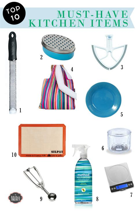 best kitchen items my 10 must have kitchen items and hey most of them would