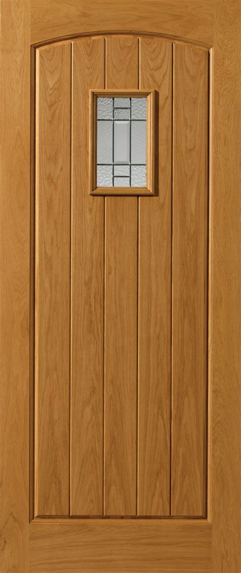Thermal Front Doors Chancery Mosel Glazed Thermal External Oak Door