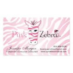 pink zebra business cards custom pink zebra business cards v2 zazzle