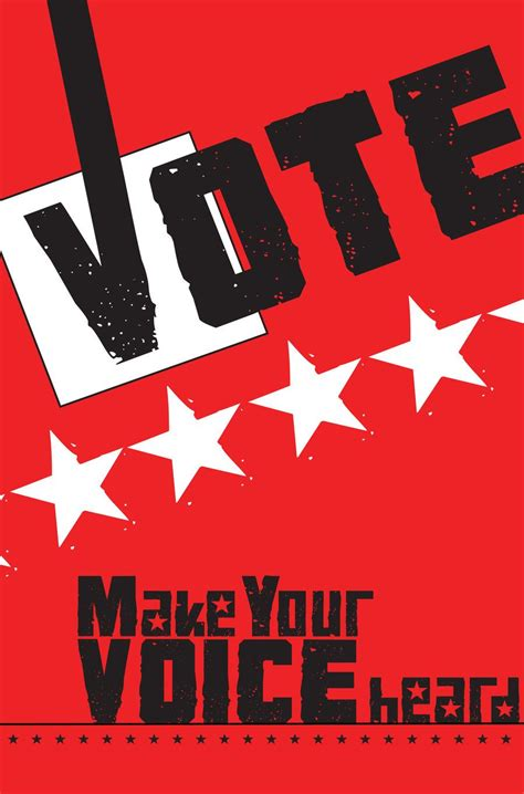 design election poster vote poster voting poster by marcielowery151 on