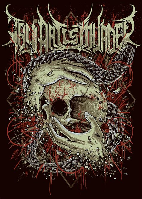 thy art is murder on wacom gallery