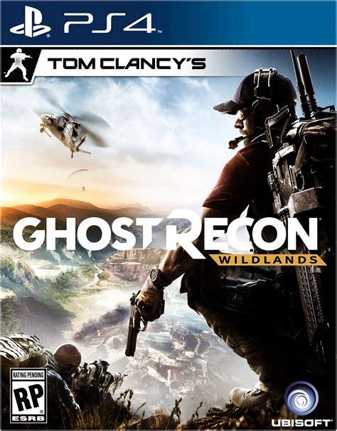 Kaset Ps4 Tom Clancy S Ghost Recon Wildlands tom clancy s ghost recon wildlands ps4 cover by