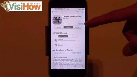 setup and use a qr code reader on iphone 6 visihow