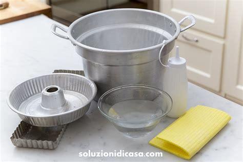 pulire persiane alluminio alluminio come pulirlo evitare che si annerisca
