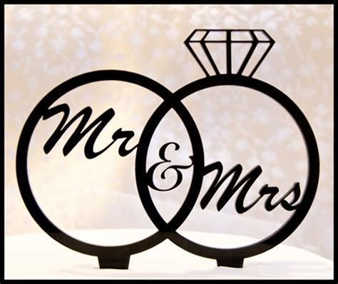mr mrs cake topper inexpensive wedding cake toppers