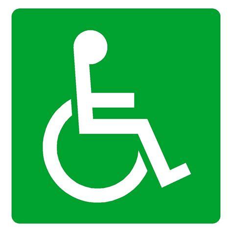 dda disabled wheelchair symbol