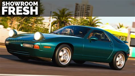 forza horizon 3 1993 porsche 928 gts gameplay youtube