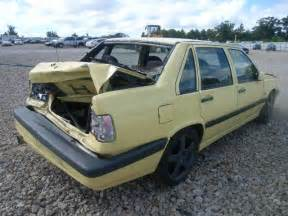 Volvo 850 T5r For Sale Yv1ls5812s2249581 Bidding Ended On 1995 Yellow Volvo 850