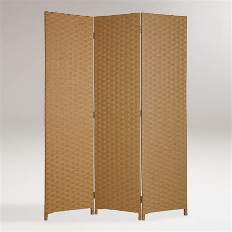 World Market Room Divider by Light Brown Pensacola Screen Modern Screens And Room Dividers