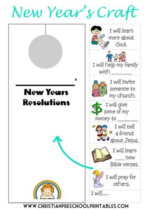 simple new year resolutions crafts new year s and for kids on pinterest