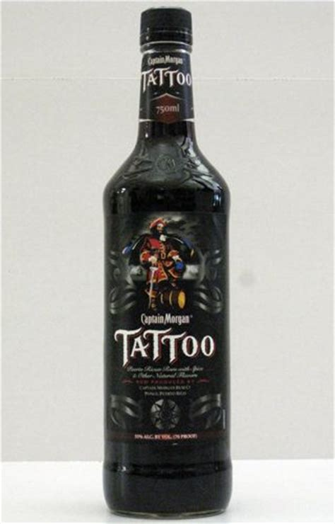 captain morgan tattoo captain spiced rum really wow tattoos
