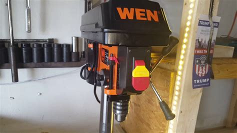 8 inch bench grinder reviews wen 8 inch drill and 6inch bench grinder review youtube