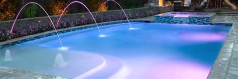 Inground Swimming Pool Light Fixture Greecian Pools Bakersfield Ca Outdoor And Pool Lighting Specialists